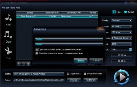 3 logiciels gratuits pour convertir des fichiers en mp3 - Logiciel pour couper musique mp3 gratuit ...