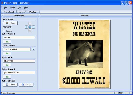 3 logiciels gratuits pour cr er des affiches ou posters - Logiciel pour couper une photo gratuit ...