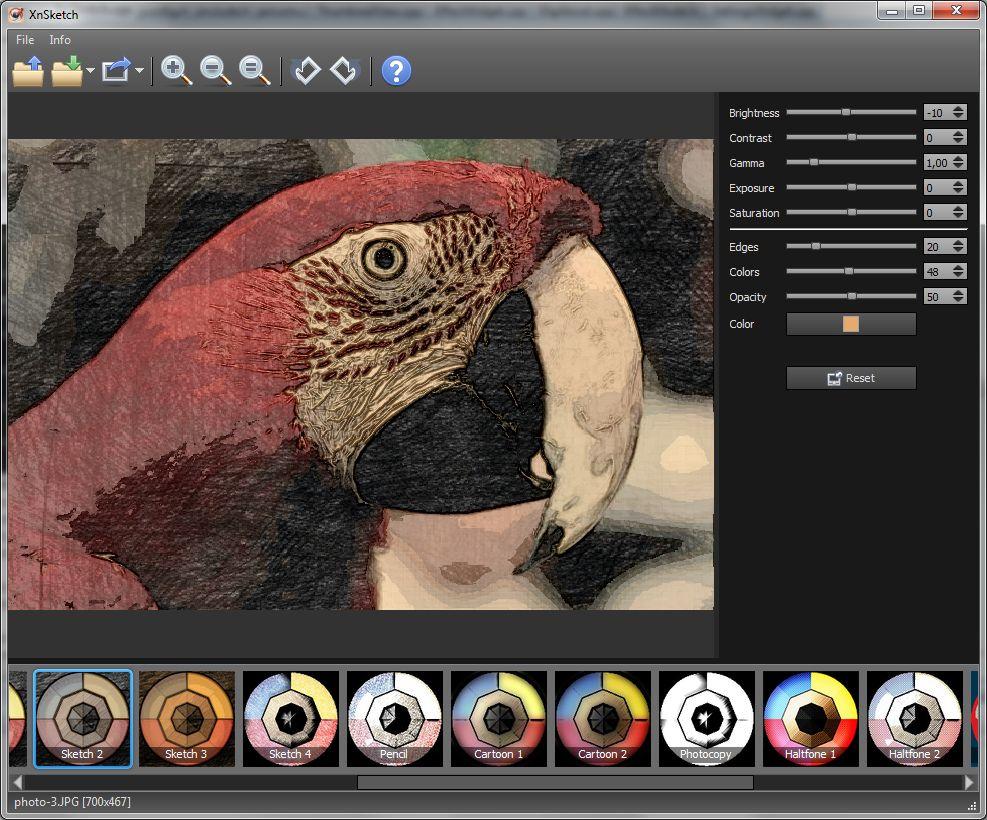 3 logiciels gratuits pour transformer une photo en peinture - Logiciel pour couper une photo gratuit ...