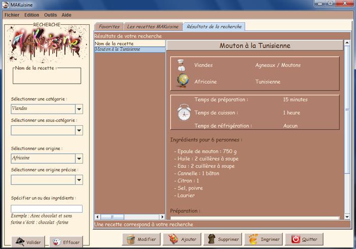 3 logiciels gratuits de recette de cuisine telecharger for Cuisine logiciel 3d gratuit
