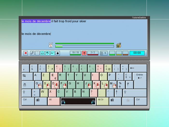 comment apprendre a taper vite sur un clavier