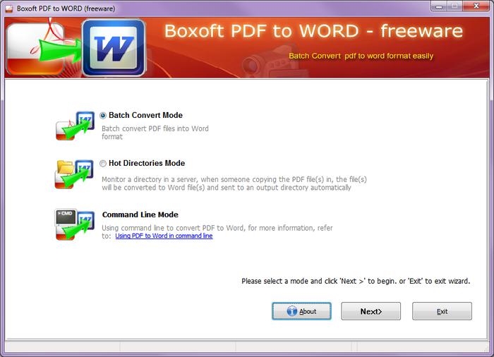 comment changer un fichier pdf en word