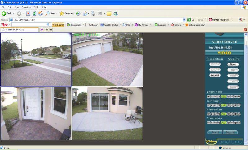 3 logiciels gratuits de surveillance par webcam video. Black Bedroom Furniture Sets. Home Design Ideas