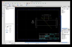 logiciel gratuit de dessin technique en 2d et 3d dessin industriel. Black Bedroom Furniture Sets. Home Design Ideas