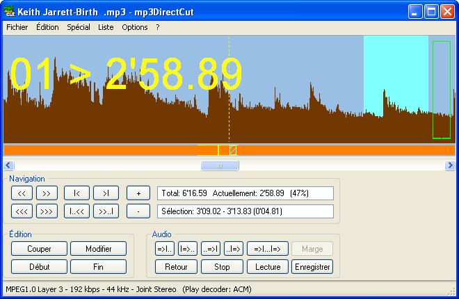 3 logiciels gratuits pour couper un morceau de musique mp3
