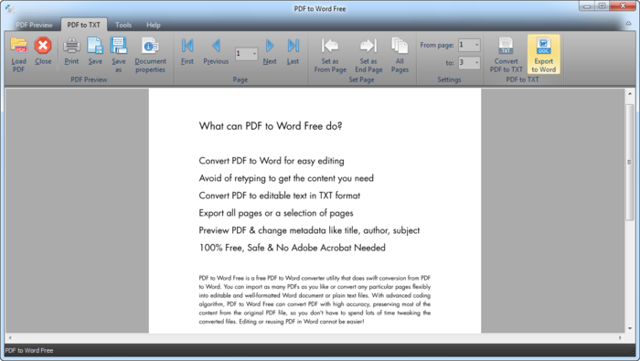 comment transformer un document en pdf en word
