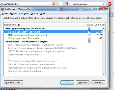 Comment bloquer pop up for Bloquer fenetre pop up firefox