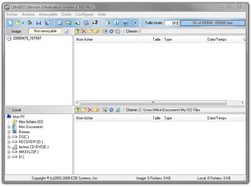 Comment creer une image disque au format iso bin - Logiciel pour couper une photo gratuit ...