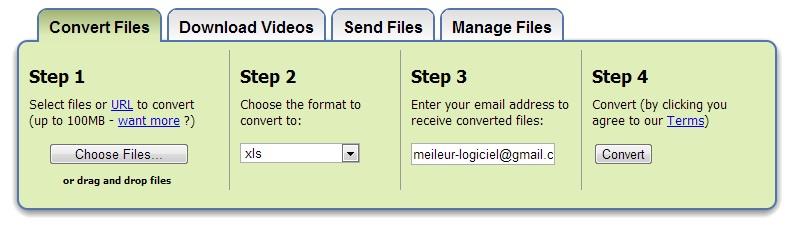 Méthode 1 : Convertir PDF en Excel gratuit en ligne. Il existe de nombreux sites qui permettent de convertir un fichier PDF en Excel avec des limitations, juste comme Smallpdf. Cliquez sur l'option « Choisir un fichier » pour sélectionner un fichier PDF dans votre disque local ou déposez le PDF...