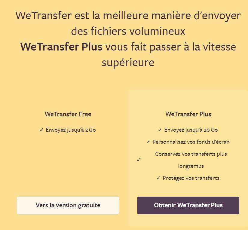 Partage et envoi des gros fichiers en ligne : gratuit, simple ...