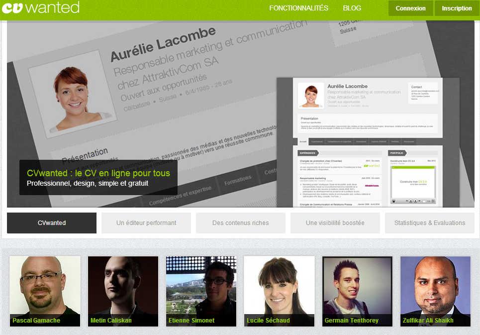 faire un curriculum vitae en ligne gratuitement   3 sites