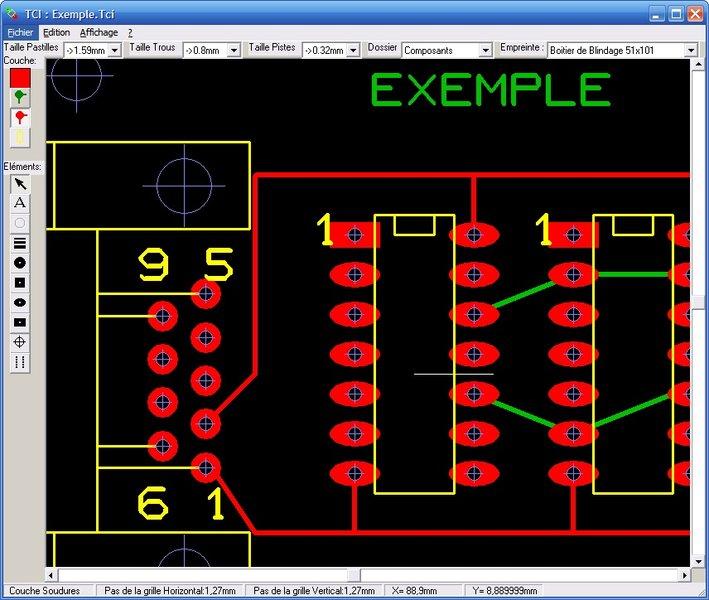 3 logiciels gratuits de dessin des circuits imprim s for Logiciel de dessin gratuit pour pc
