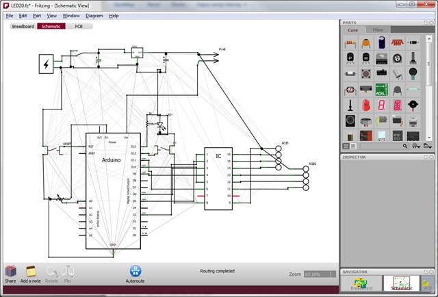 3 logiciels pour cr er et tracer des circuits electrique tci. Black Bedroom Furniture Sets. Home Design Ideas