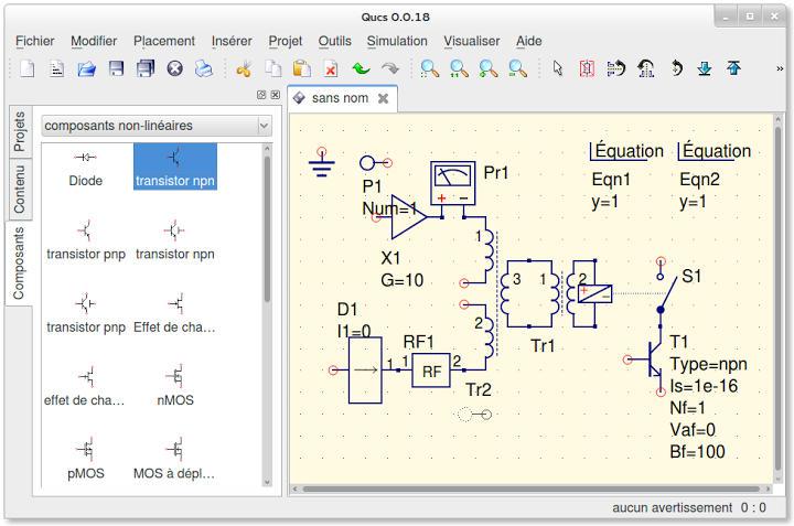 3 Logiciels Gratuits De Simulation De Circuit Electronique